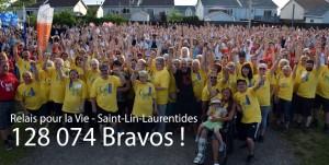 Une envolée contre le cancer - Bravo Saint-Lin-Laurentides