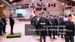 35 ans déjà pour le Corps de Cadets - Escadron 879 Sir-Wilfrid-Laurier