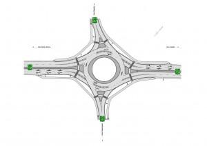 Nouvelles du carrefour giratoire de St-Jacques