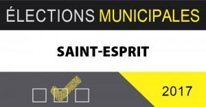 Élection à tous les postes à Saint-Esprit
