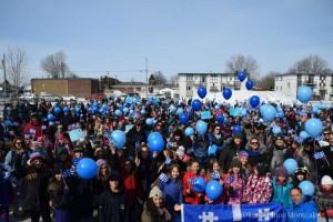 Semaine de l'autisme: plus de 1000 personnes marchent