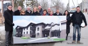 Au Coeur du Village, 16 logements dès l'automne 2018