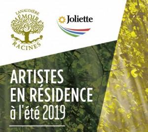 Résidence d'artiste à Joliette à l'été 2019