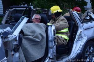 Ouverture officielle: Les pompiers au secours du maire
