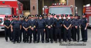 M. Serge Leblanc | 45 ans au Service de sécurité incendie - Saint-Jacques